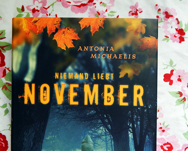 "|Rezension| ""Niemand liebt November"" von Antonia Michaelis"
