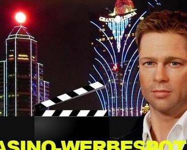 Brad Pitt dreht Casino-Werbespot