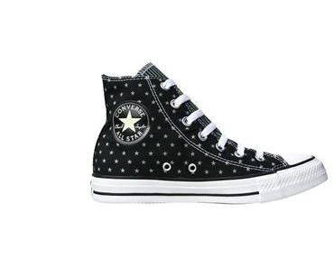 #Converse All Star Chuck Taylor Chucks 144825 Black / Schwarze Sterne