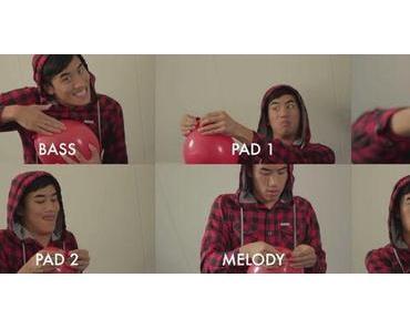 """Nena Song """"99 Luftballons"""" mit Luftballons gespielt"""