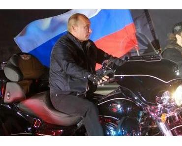 St.Petersburg: Biker protestieren vor US-Konsulat