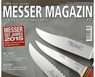 Messer Magazin 5-2014 ist da