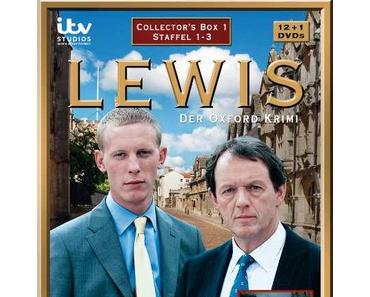Review: LEWIS – DER OXFORD KRIMI (Staffel 1  - 3) – Rätselraten vor pittoresker Kulisse