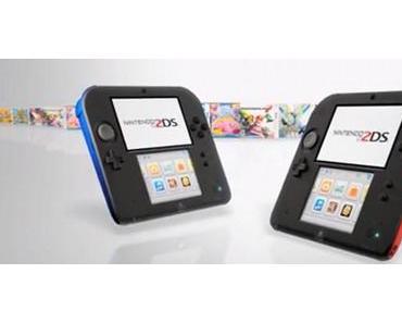 Neue Nintendo 2DS mit durchsichtigem Gehäuse erscheinen am 7. November