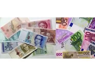 Der €uro, die DM, die Finanzkrise … und dann?