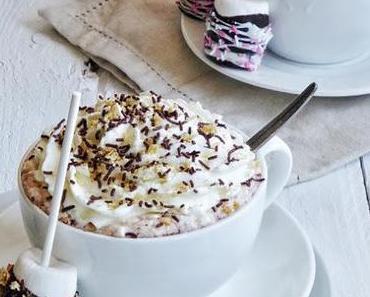 Heisse Schokolade - Marshmallow - Rührstäbe { Buchvorstellung:Knallbunt & zuckersüß }