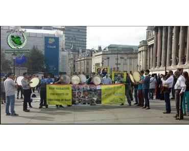 Proteste in Teheran und Europa
