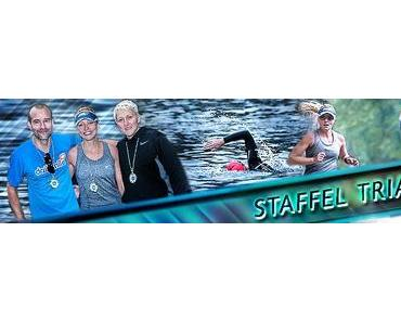 Staffeltriathlon 2014 – Trotz Sintfluten Teamspirit & Motivation pur