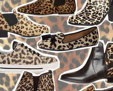 Worauf ich mich im Herbst freue: Schuhe mit Leo-Muster