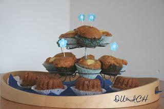 Apfel-Buttermilch-Muffins mit weißer Schokolade {DU&ICH}