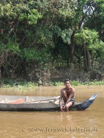 Welt auf dem Wasser: Die schwimmenden Dörfer des Tonle Sap
