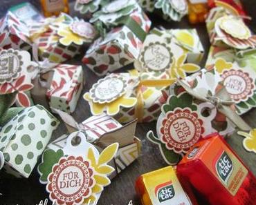 Mini-TIC-TAC-Goodies mit dem Envelope Punchboard & Bunter Herbst