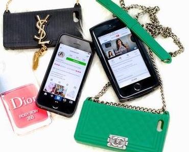 Handyhüllen von Chanel, Dior usw