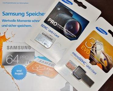 trnd Projekt: Samsung Speicherkarten.
