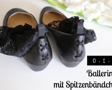 Lace up my Ballerinas - von fesselnden Spitzenbändern
