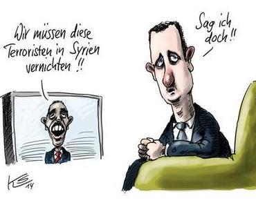 NATO bombardiert in Syrien nicht den IS, sondern die Infrastruktur