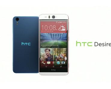 Das HTC Desire Eye ist da