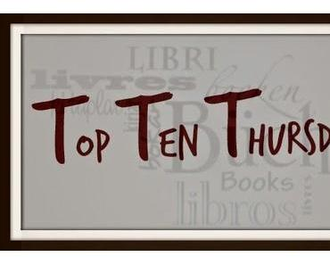 [Top Ten Thursday] #177
