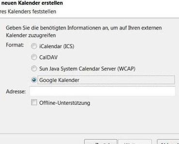 Thunderbird-Nutzer: Google-Kalender-Chaos
