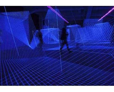 Lichtgeflechte im Maximiliansforum: Jeongmoon Chois Installation In.Visible