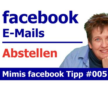 So kannst du die E-Mail Benachrichtigungen in Facebook abstellen