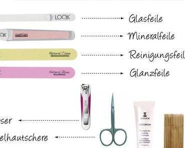 Beautywoche: Zubehör und Utensilien für die Nagelpflege – Grundausstattung