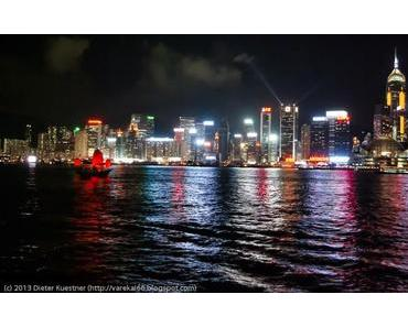 Panorama image of the week - Hong Kong Island - Skyline at night