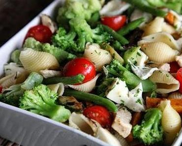 Gesund und lecker: Nudel-Gemüseauflauf
