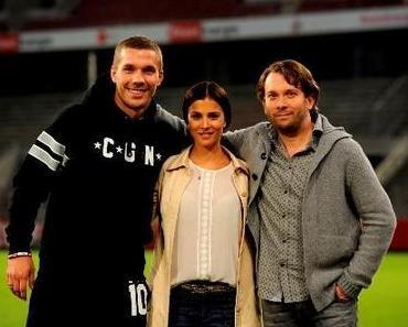 Dreharbeiten zu MACHO MAN – Heimspiel für Podolski