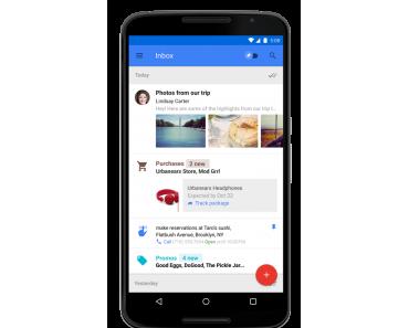 Google Inbox : Google präsentiert neuen Email Dienst und App