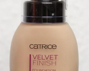 Catrice Velvet Finish Foundation