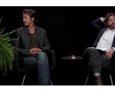Spaßiges Interview zwischen Zach Galifianakis und Brad Pitt