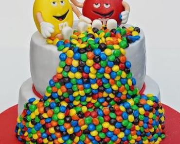 Eine weitere M&M's Torte