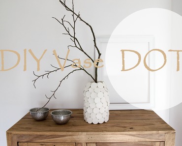 DIY Vase Dots