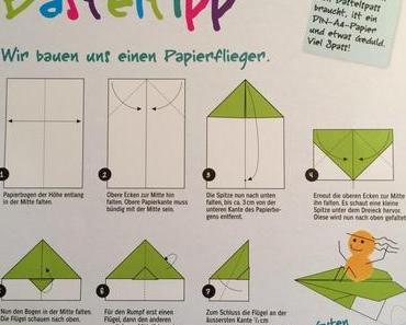 Kinderklassiker: Der Papierflieger