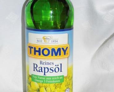Test – Thomy Reines Rapsöl – reich an Omega 3 Fettsäuren