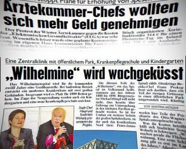 Wien: Look back in anger oder wie brutal es wirklich wurde