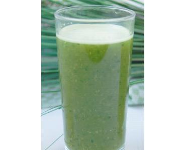 Grün und lecker – trendige Smoothies für zwischendurch
