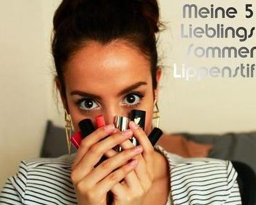 Meine 5 Sommer Lippenstifte: Zoeva, p2, flormar...