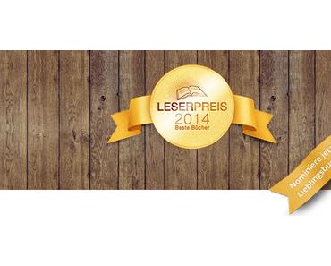 |Aktion| Der Lovelybooks-Leserpreis - die besten Bücher 2014
