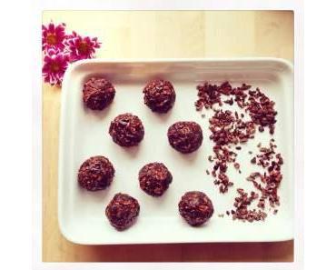 Minzige Schokoladen Bällchen