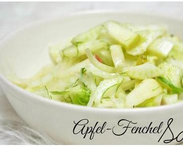 frischer Salat zur kalten Jahreszeit - Apfel-Fenchel-Salat