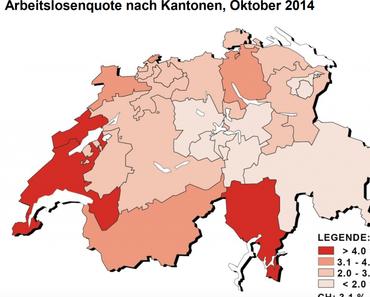 Arbeitslosenquote Oktober 2014