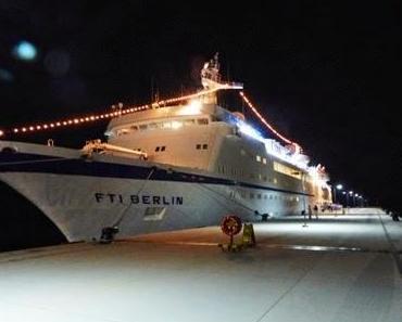 Reisebericht von Helmut Hafner: Mit der FTI.Berlin durch den Kanal von Korinth ins östliche Mittelmeer!