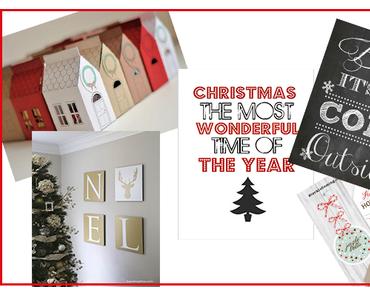 5 kostenlose Printables für Weihnachten