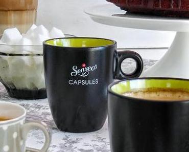 Espresso Party mit Kuchen & S'mores, Chashew Kernen und Espresso Fuge Sauce
