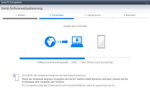 Systemupdate für das Sony Xperia z1 bei Vodafone