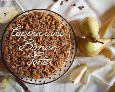Cappuccino-Birnen-Torte [Herr von Ribbeck auf Ribbeck im Havelland,...]