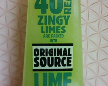 Original Source Duschgele oder - gut gemeint ist nicht gut gemacht