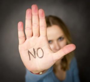 """""""NEIN zu Gewalt an Frauen"""""""